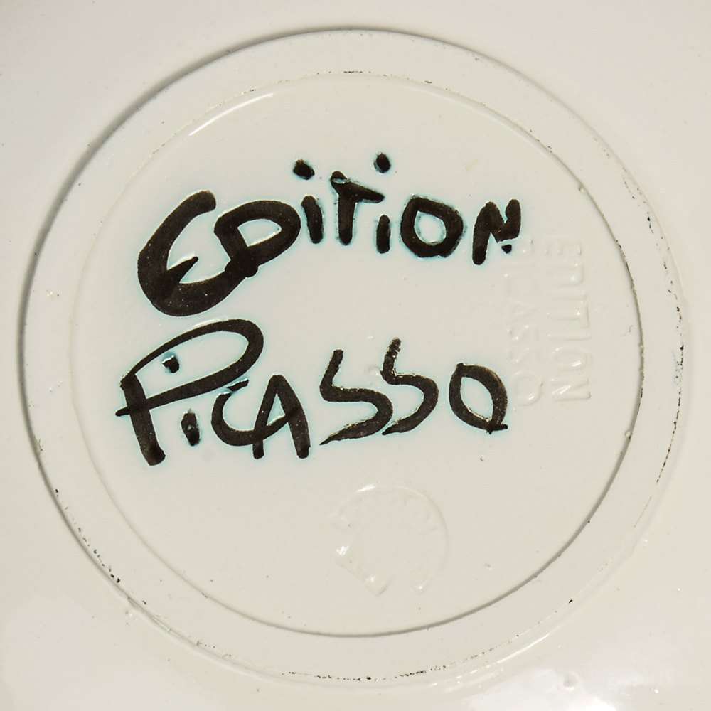 PABLO PICASSO LTD EDN TAUREAU SOUS L'ARBRE PLATE 1952 Made in 1952