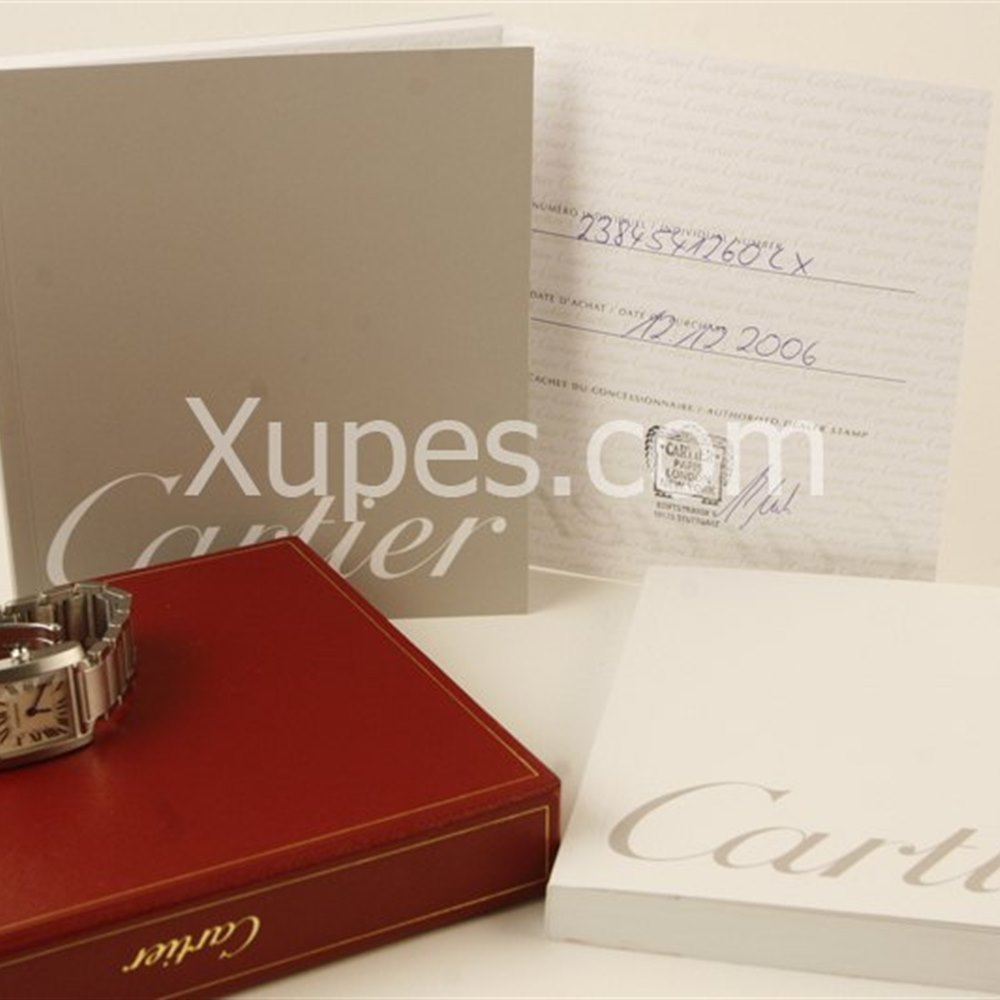 Cartier Tank Francaise Stainless Steel *********