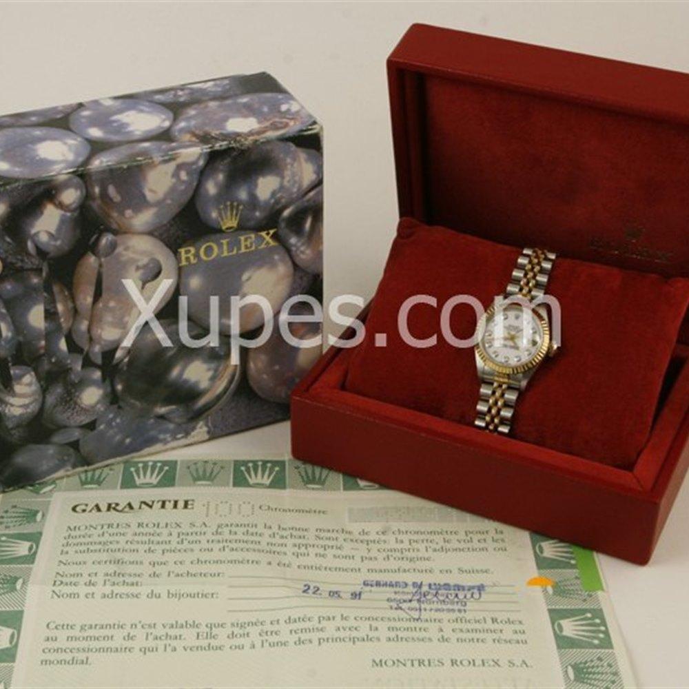 Rolex Datejust Stainless Steel/18K Yellow Gold Bezel