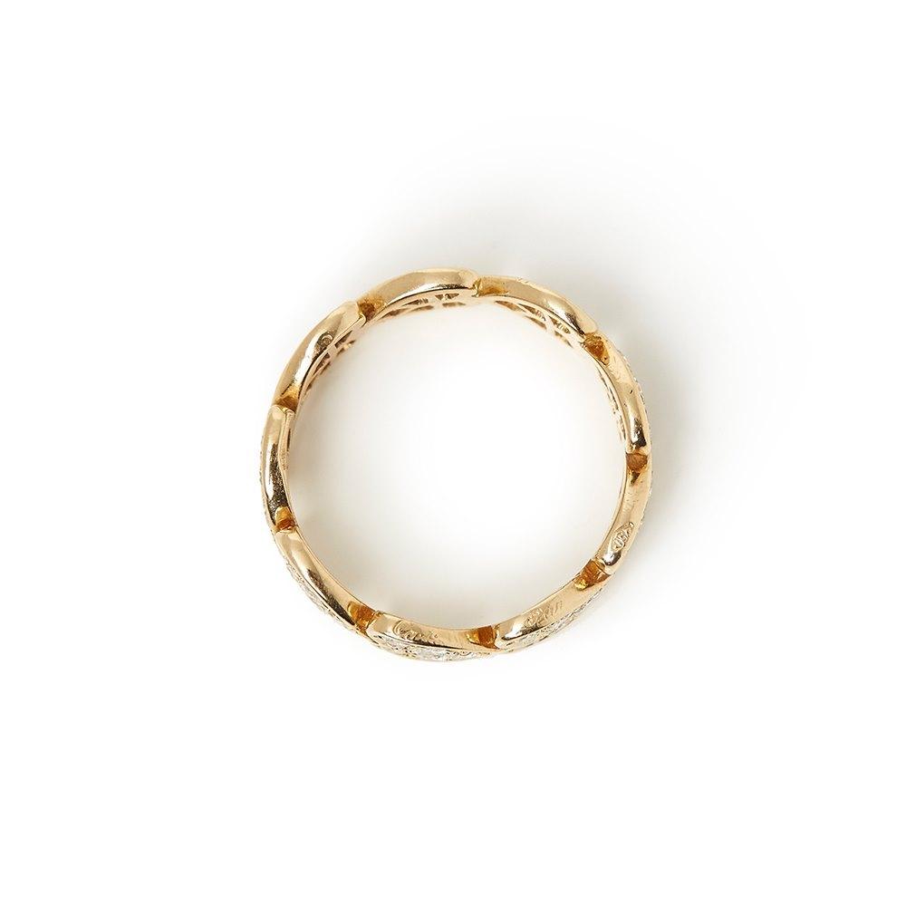 Cartier 18k Yellow Gold Diamond Heart Ring