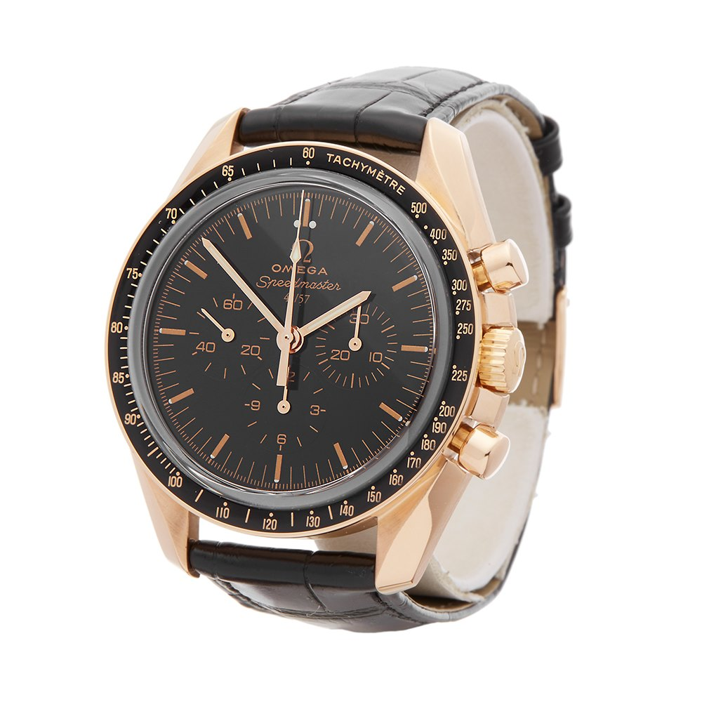 Omega Speedmaster 50th Anniversary Chronograph Rose Gold 311.63.42.50.01.001