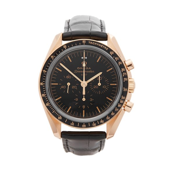 Omega Speedmaster 50th Anniversary Chronograph 18k Rose Gold - 31163425001001