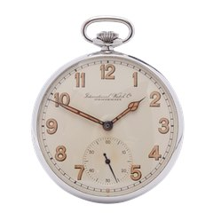 IWC Pocket Watch Military Stainless Steel - C.67