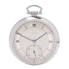 IWC Pocket Watch Stainless Steel - C.97