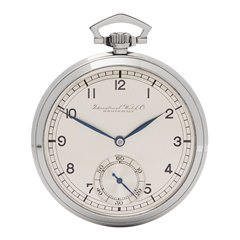 IWC Pocket Watch Art Deco 49mm Stainless Steel - C.67