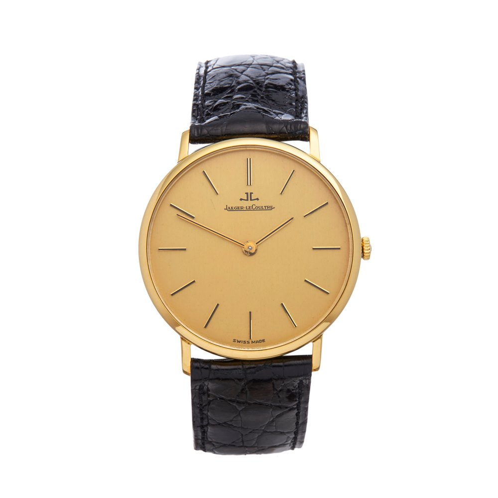 Jaeger-LeCoultre Vintage Ultra Thin Geel Goud C.818/3