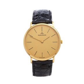 Jaeger-LeCoultre Vintage Ultra Thin 18k Yellow Gold - C.818/3