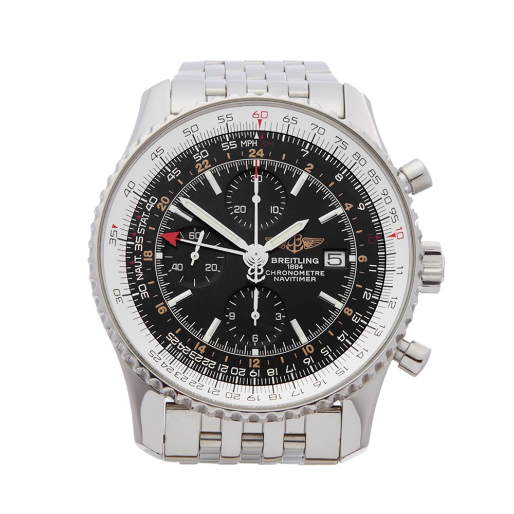 Breitling Navitimer World Chronograph Stainless Steel A24322