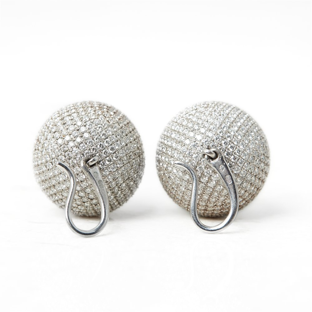 Bottega Veneta Sfera Diamond Earrings