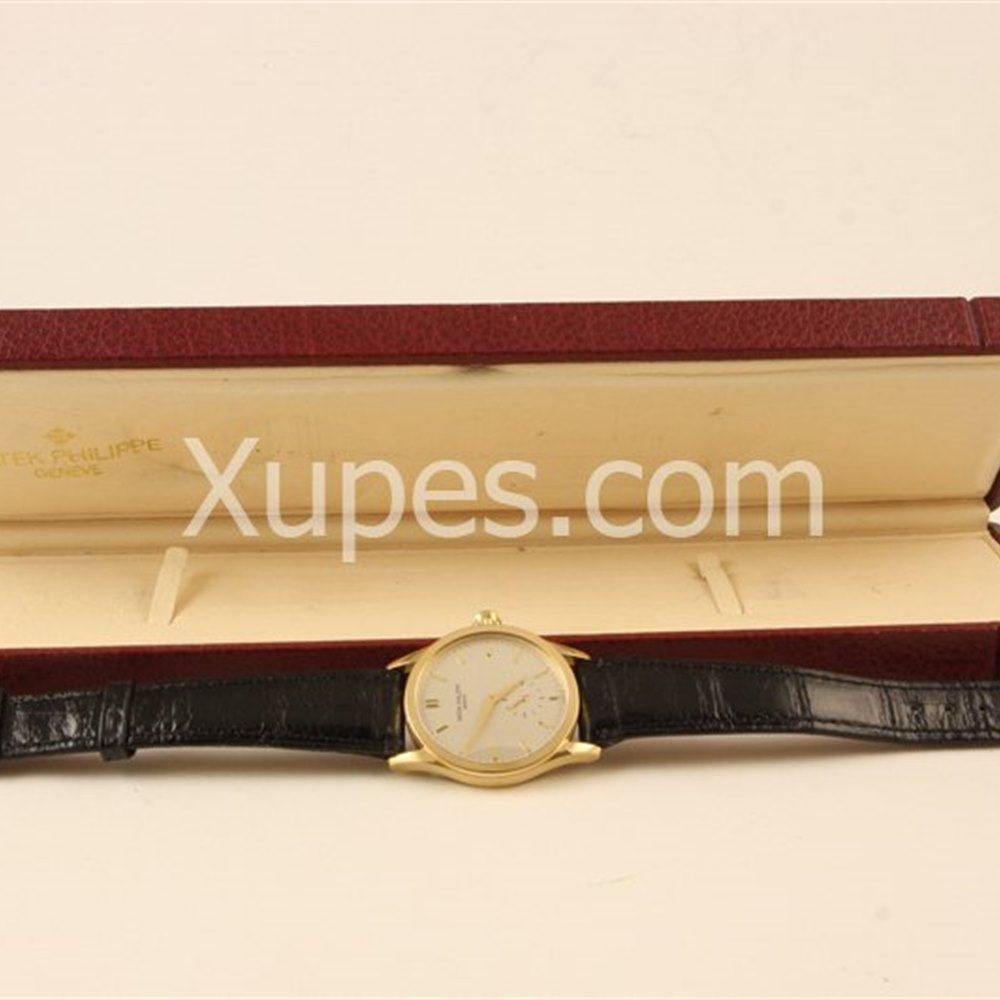 Patek Philippe Calatrava 18k Yellow Gold