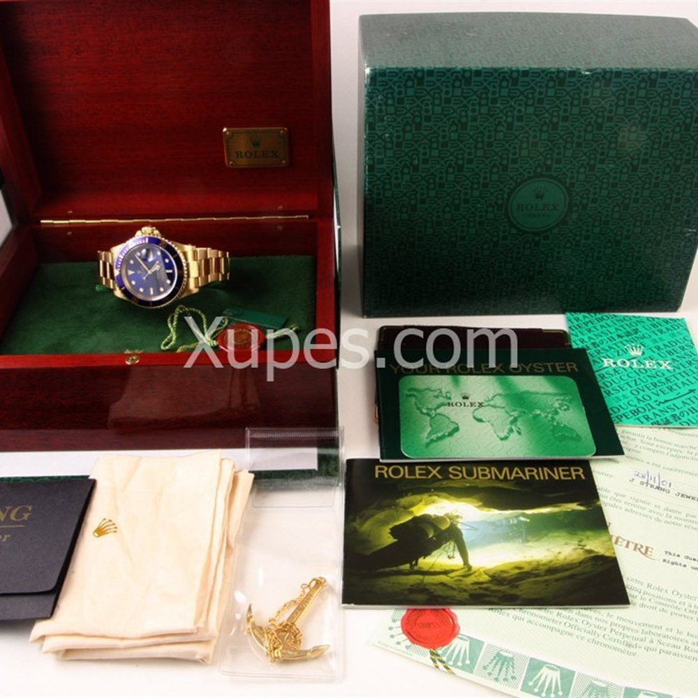 Rolex Submariner 18k Yellow Gold