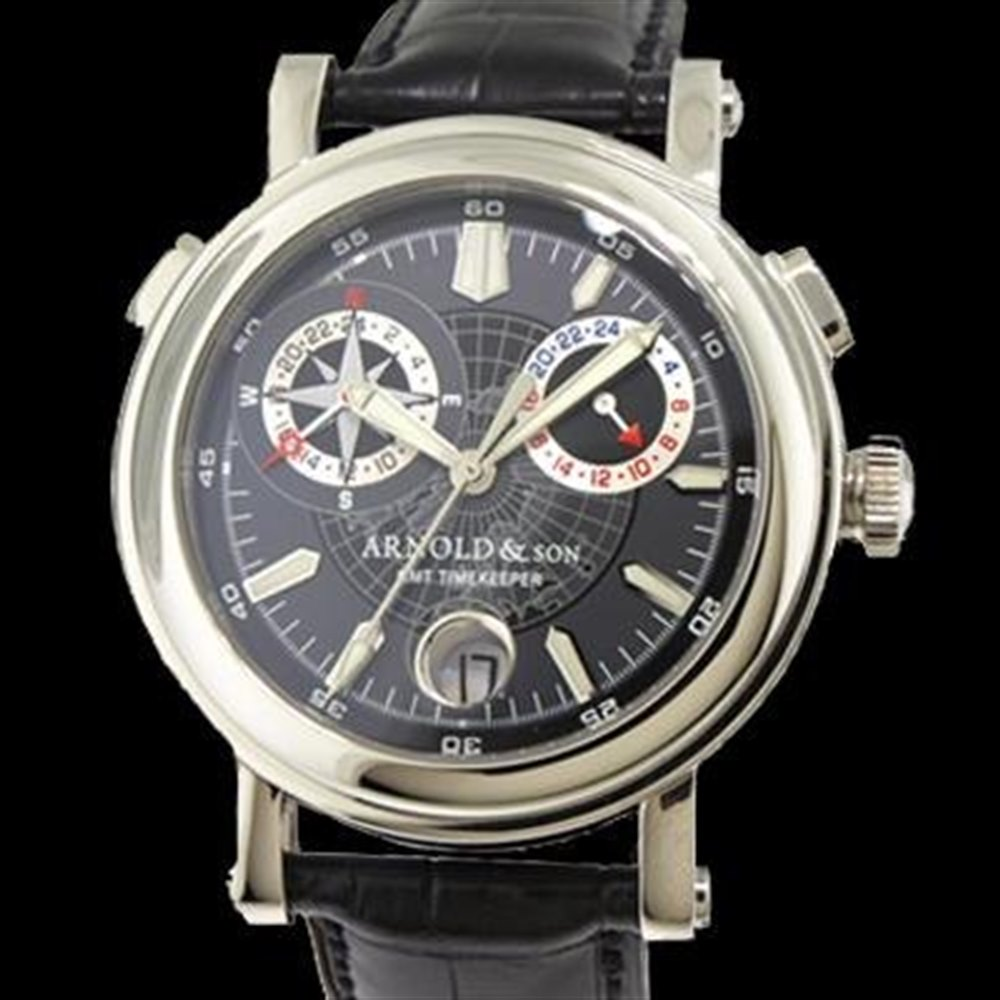 Arnold & Son Timekeeper II Stainless Steel 1G2AS.B01A.C01B