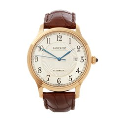 Faberge Agathon 40mm 18K Rose Gold - M1102/00/Z4/103A3