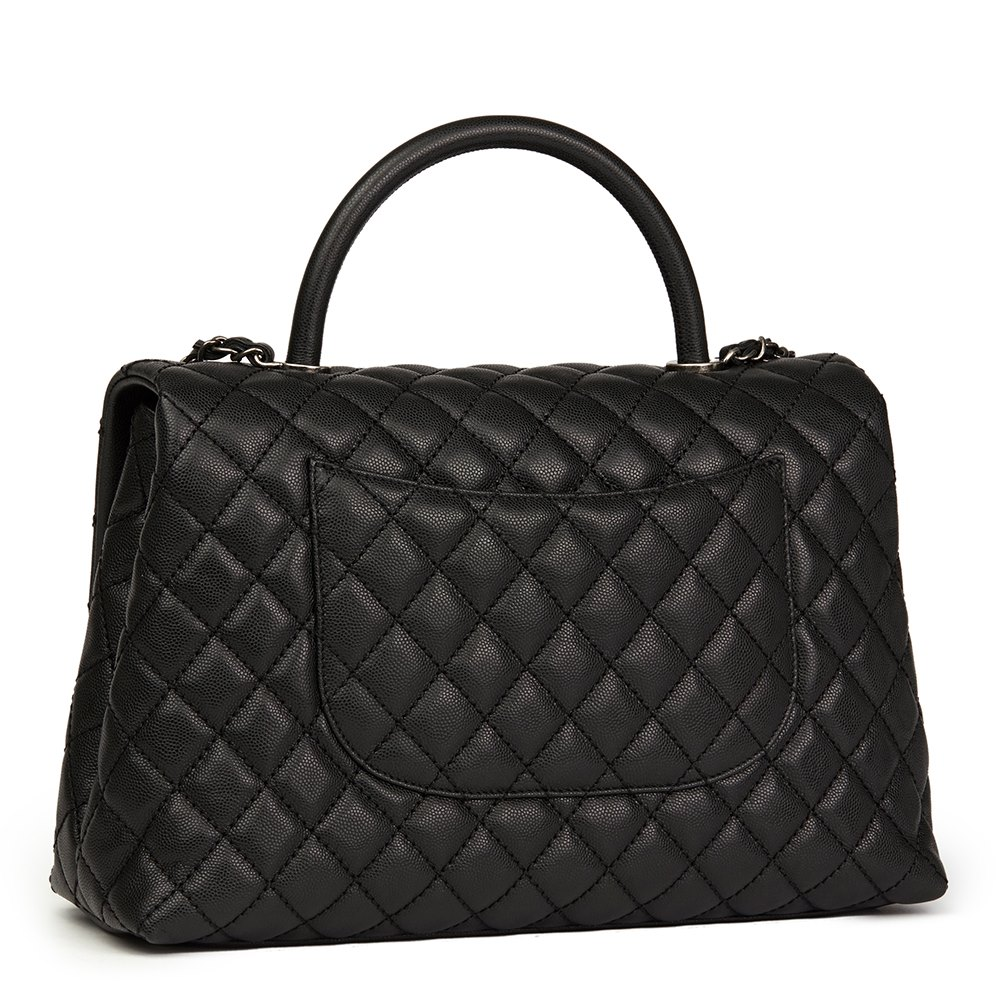 dc57ccf1cd06 Chanel Large Coco Handle 2017 HB1497 | Second Hand Handbags | Xupes