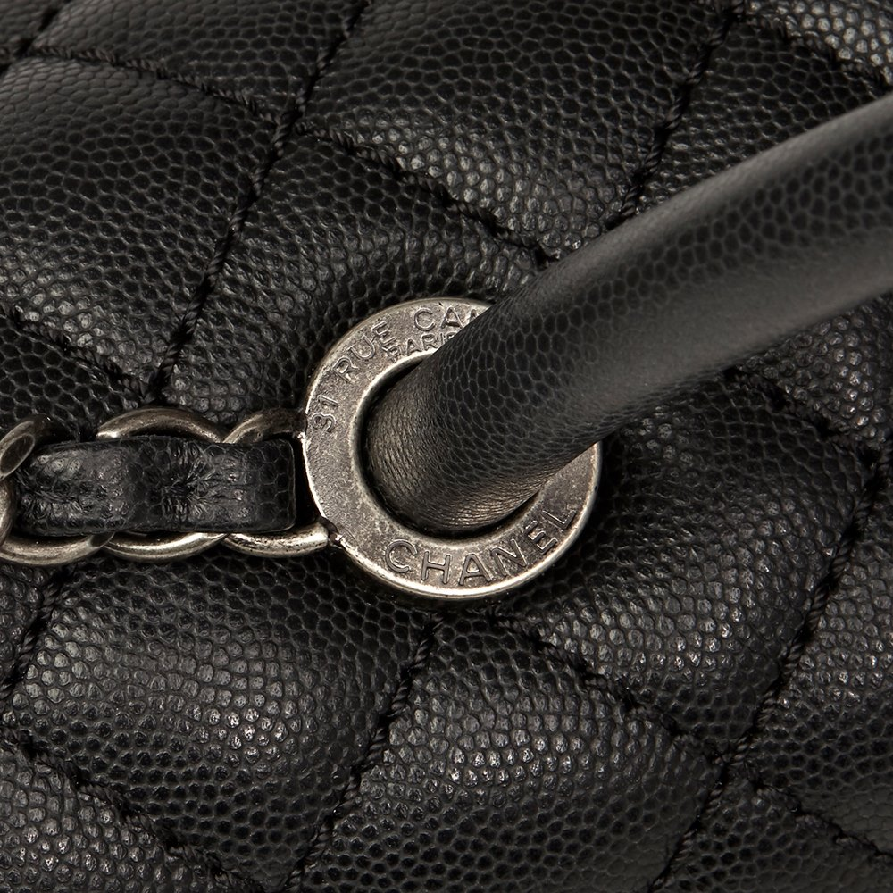 c2cbaea352a8 Chanel Large Coco Handle 2017 HB1497 | Second Hand Handbags | Xupes