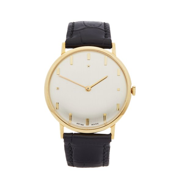 Zenith Vintage 18k Yellow Gold - N/A