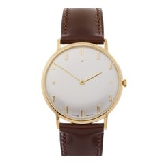 Zenith Vintage 18K Yellow Gold