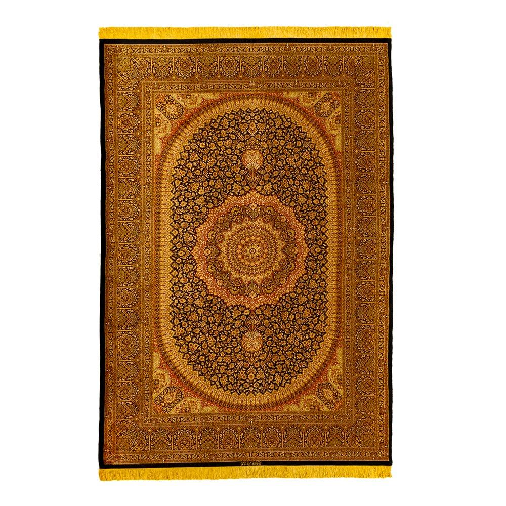 Vintage Mohammedi Silk Qum Medallion