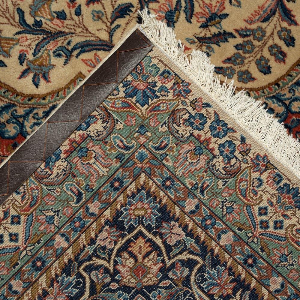 VINTAGE FARAJI SHERKAT LAVER PERSIAN RUG