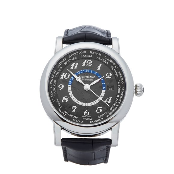 Montblanc Star World-Time GMT 42mm Stainless Steel - 106464