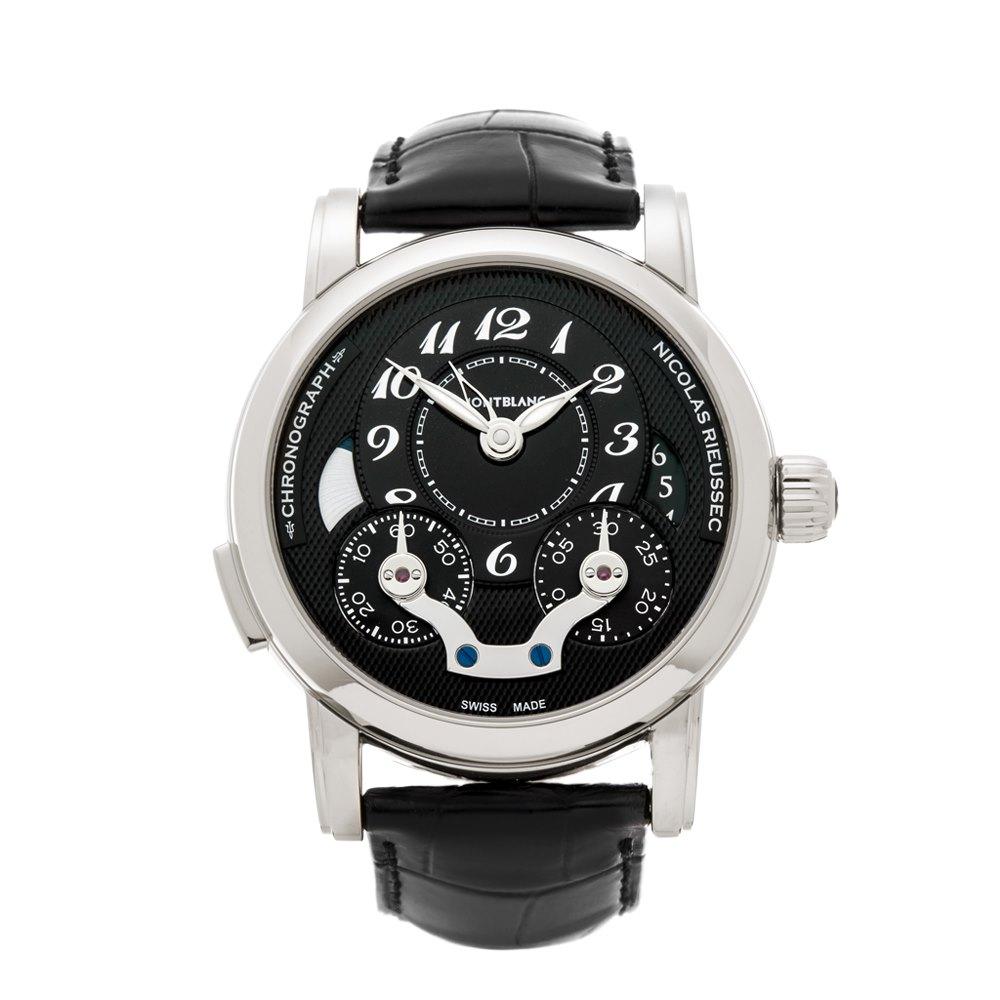 Montblanc Nicolas Rieussec Chronograph Stainless Steel 106488