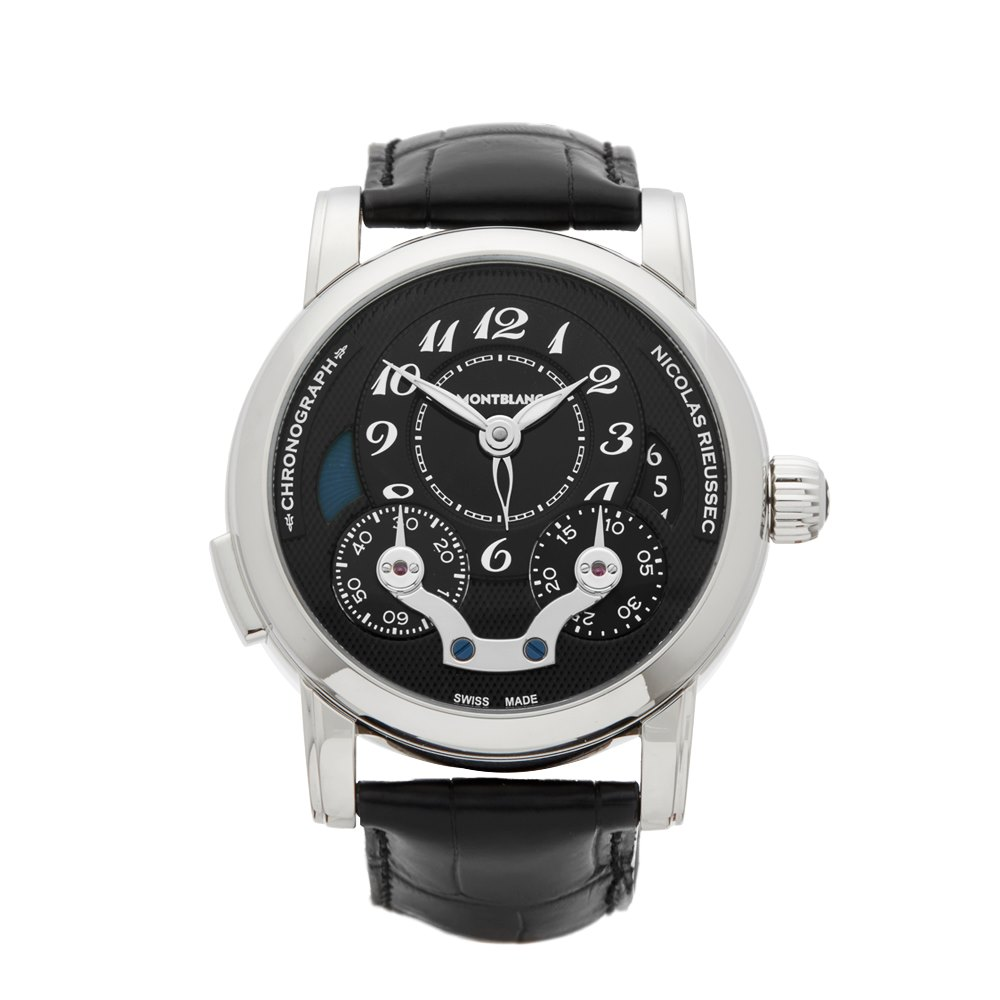 Montblanc Nicolas Rieussec Chronograph Stainless Steel 106488