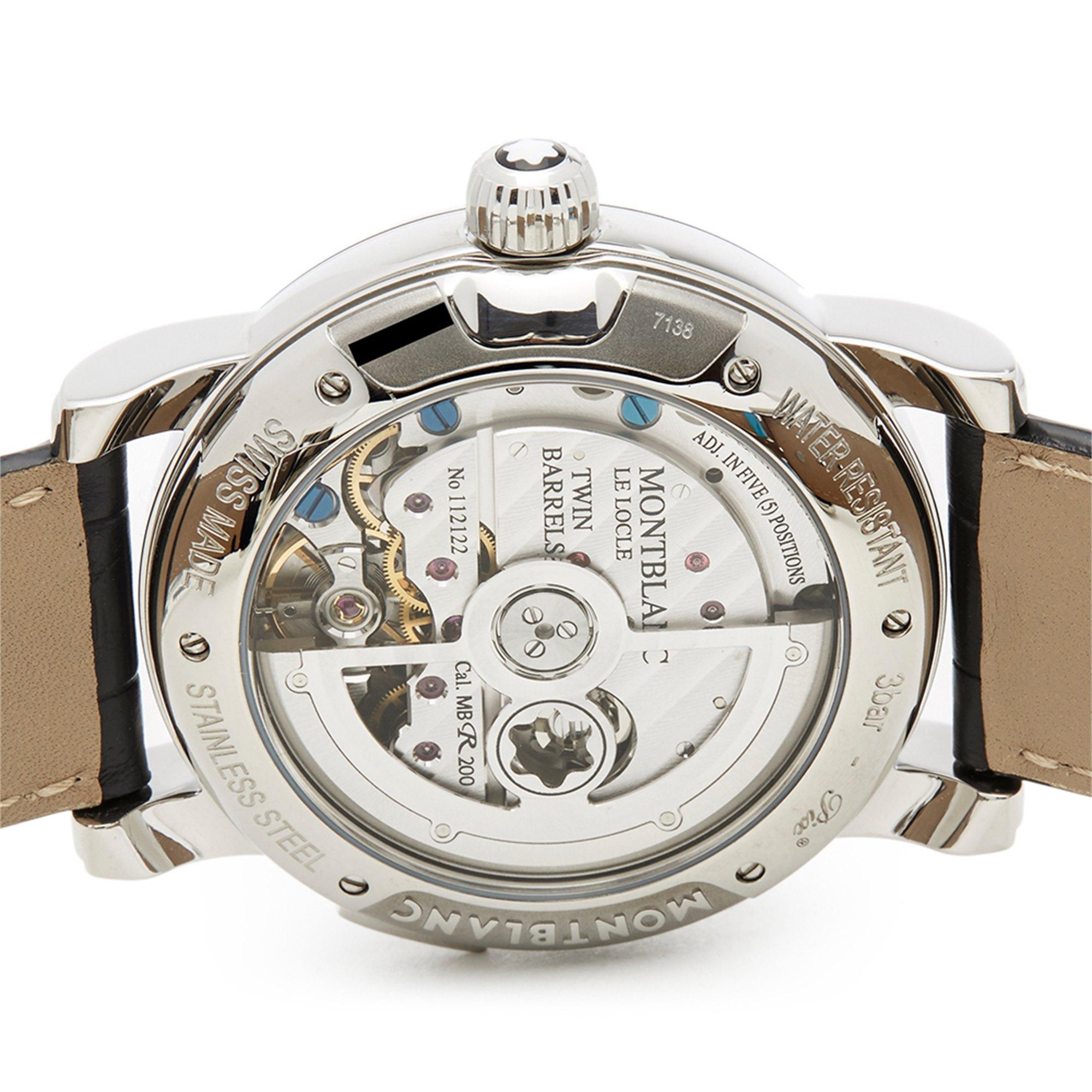 Montblanc Nicolas Rieussec Chronograph Roestvrij Staal 106488