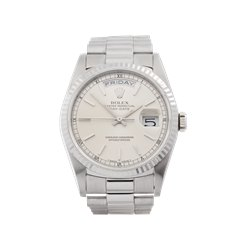 Rolex Day-Date 36 36mm 18K White Gold - 18239