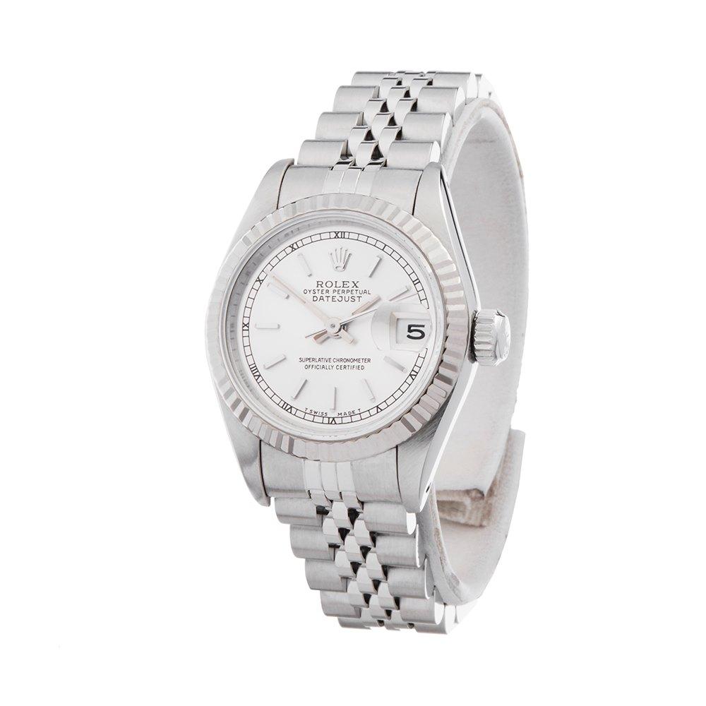 Rolex Datejust 26 Stainless Steel & 18K White Gold 69174