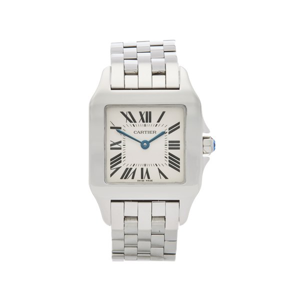 Cartier Santos Demoiselle Stainless Steel - W25065Z5 or 2701