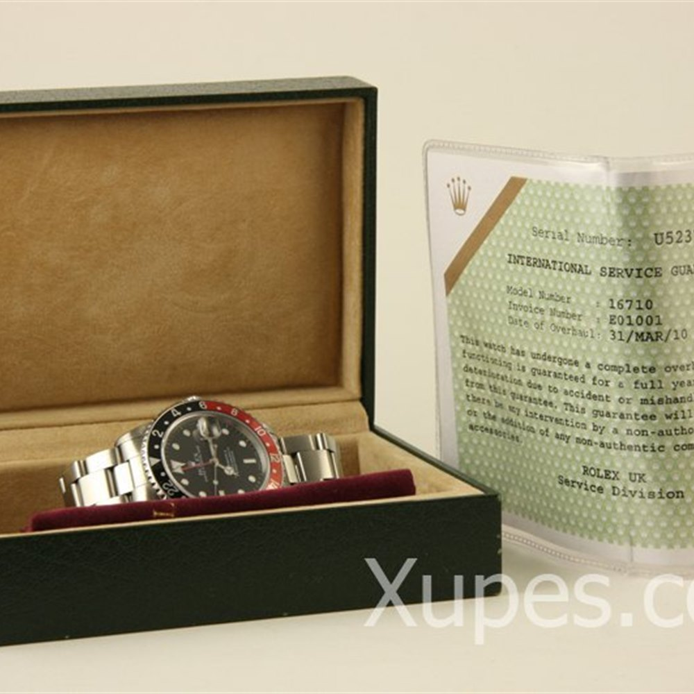 Rolex GMT-Master II Stainless Steel *********