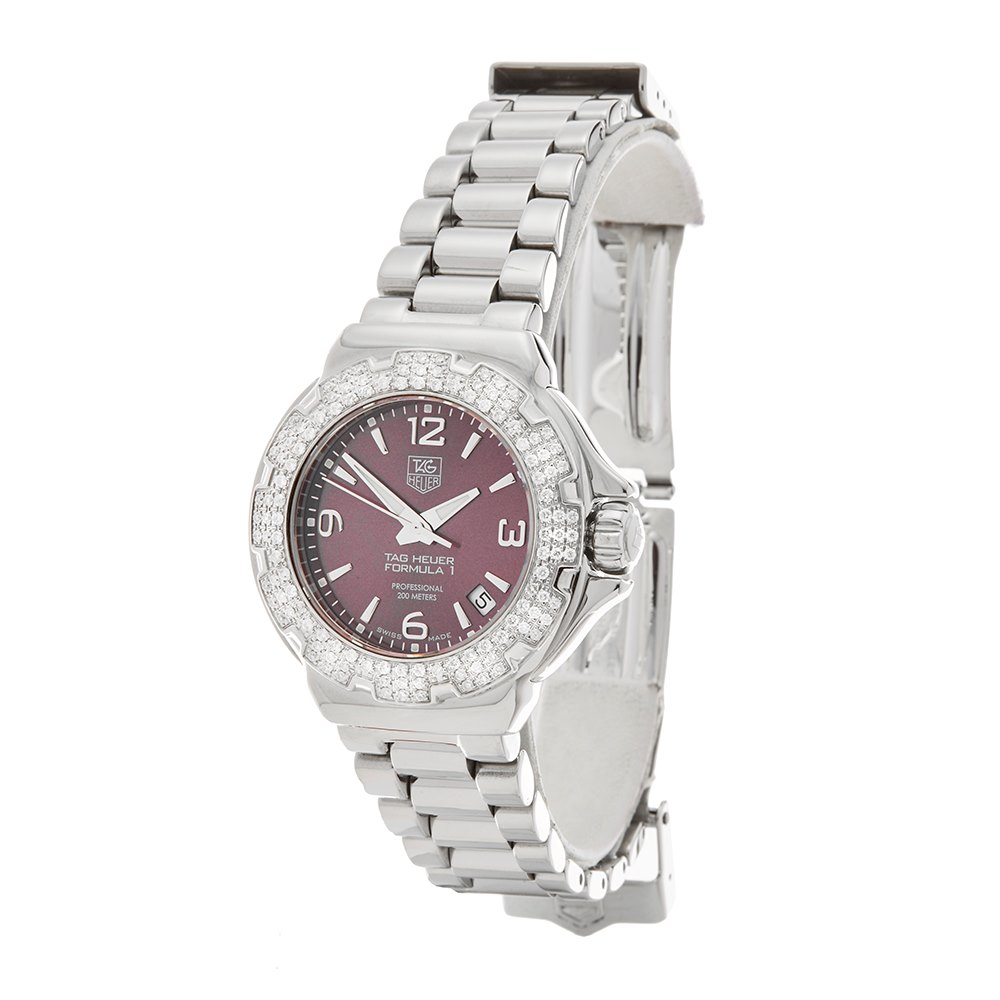 Tag Heuer Formula 1 Diamond Stainless Steel WAC1219-0