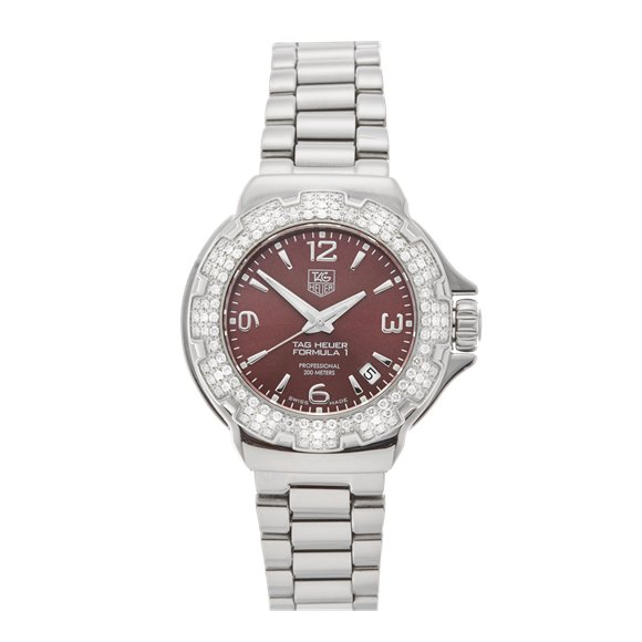 Tag Heuer Formula 1 34mm Stainless Steel - WAC1219-0