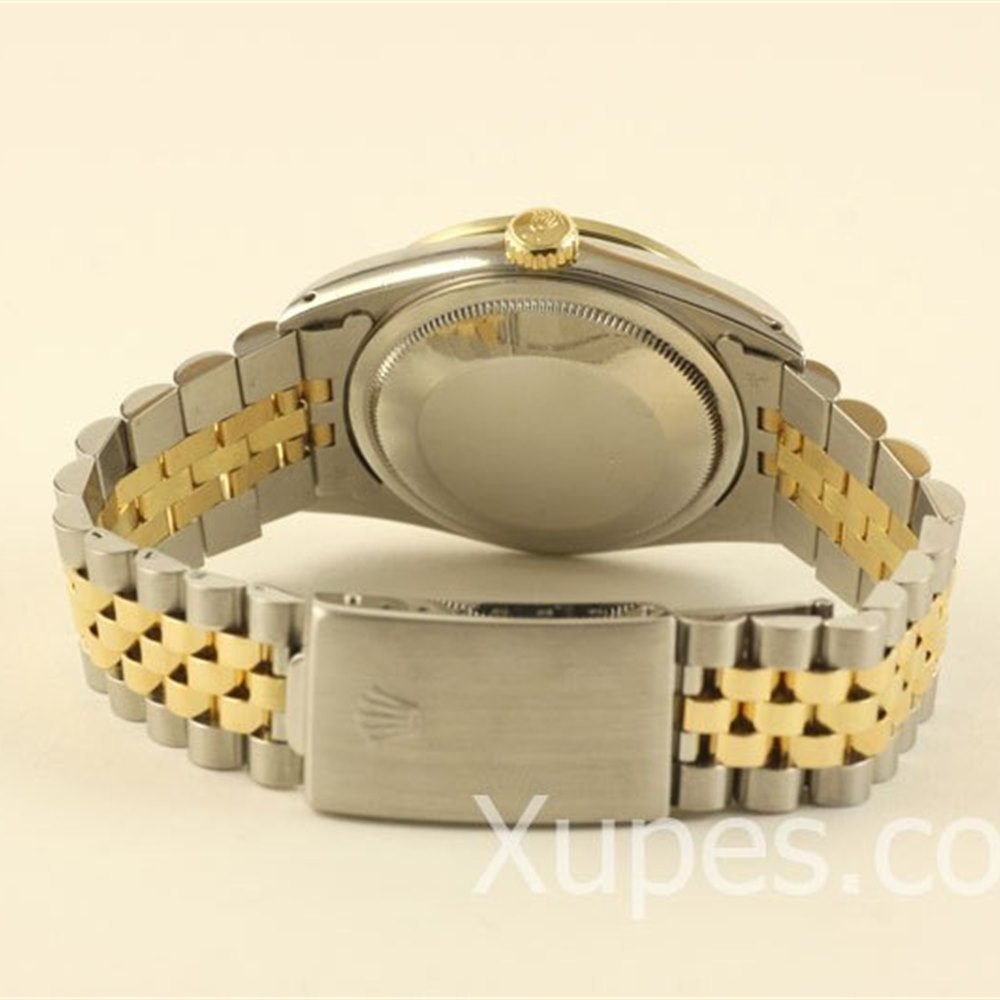 Rolex Datejust Stainless Steel/18k Yellow Gold Bezel