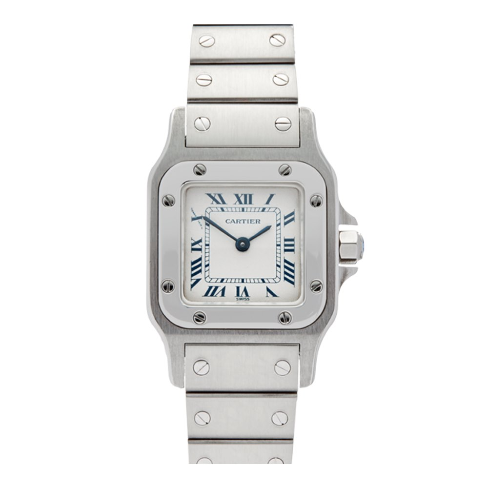 great stainless for trusted a galbee condition steel htm seller cartier santos on watches sale xxl from
