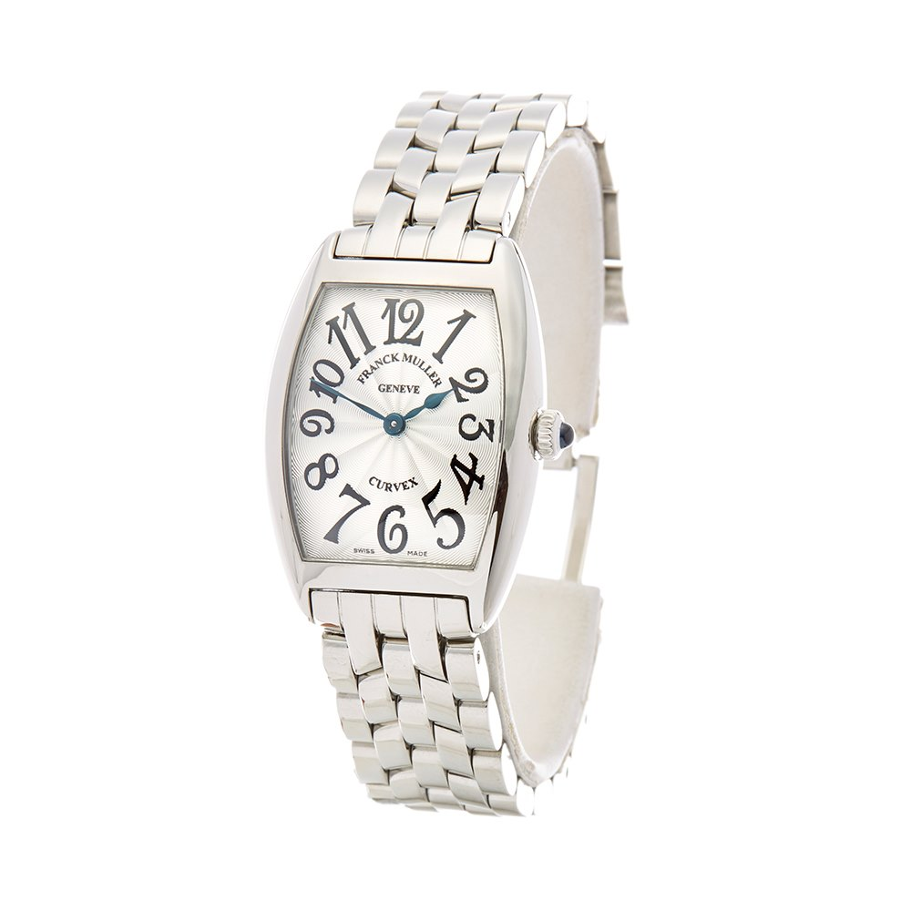 Franck Muller Cintree Curvex Stainless Steel A52QZ
