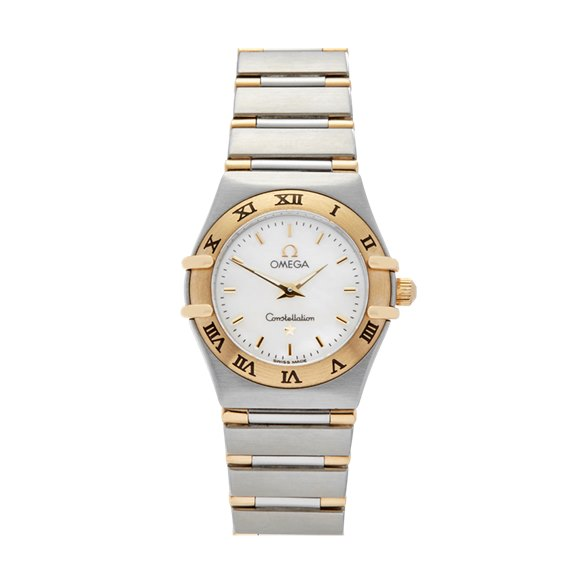 Omega Constellation 22mm Stainless Steel & 18K Yellow Gold - 1362.70.00