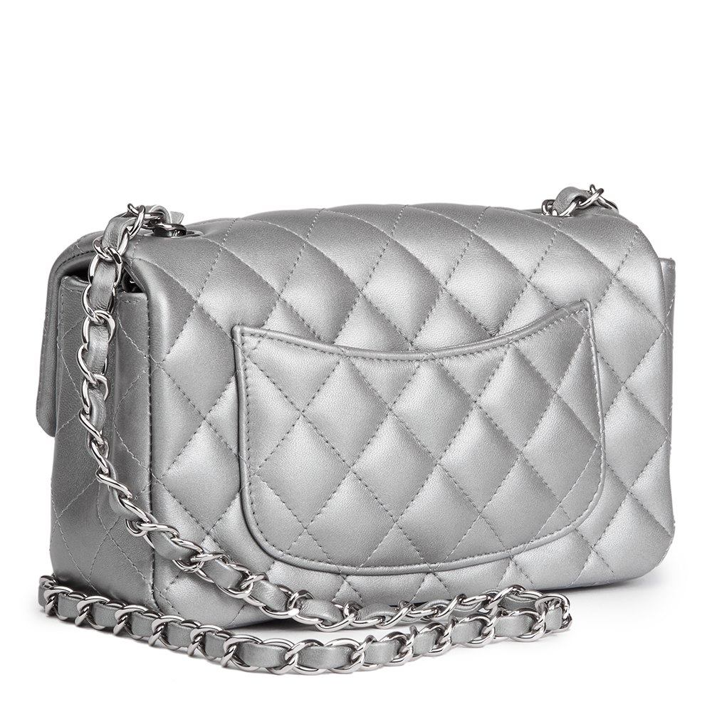 79138a43833703 Chanel Rectangular Mini Flap Bag 2017 HB1522 | Second Hand Handbags