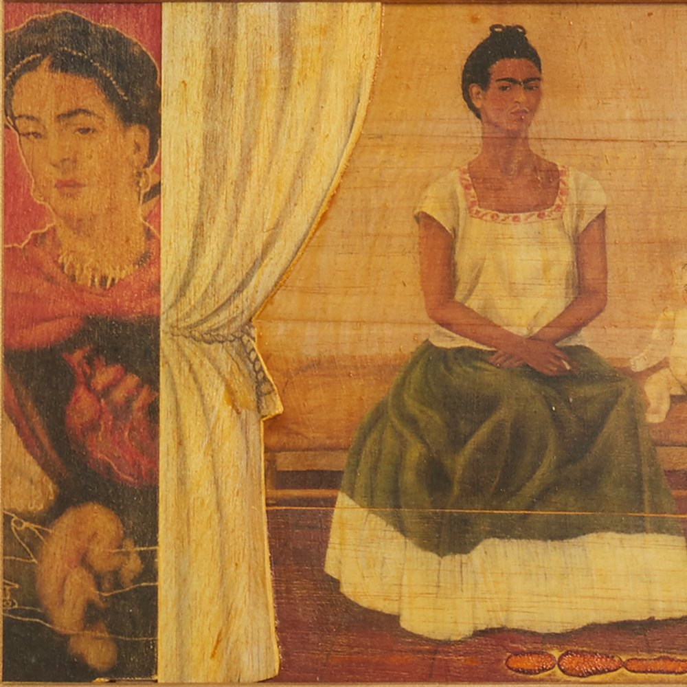 PIETRO PSAIER WAITING IN THE WINGS FRIDA KAHLO 1977 Dated 1977