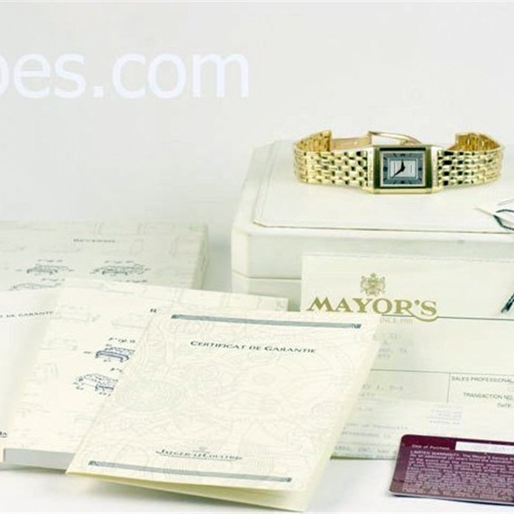 Jaeger-LeCoultre Reverso Classic 18K Yellow Gold