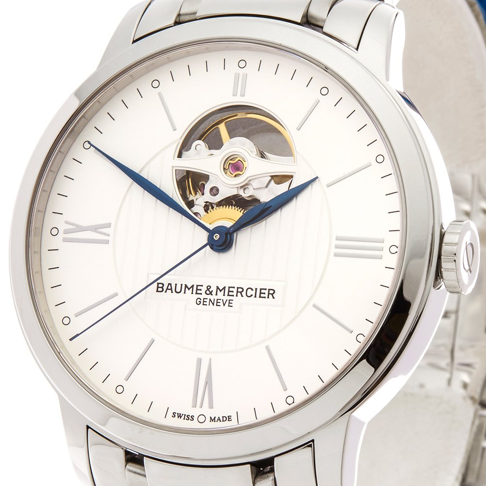 Baume & Mercier Classima Open Balance Stainless Steel M0A10275
