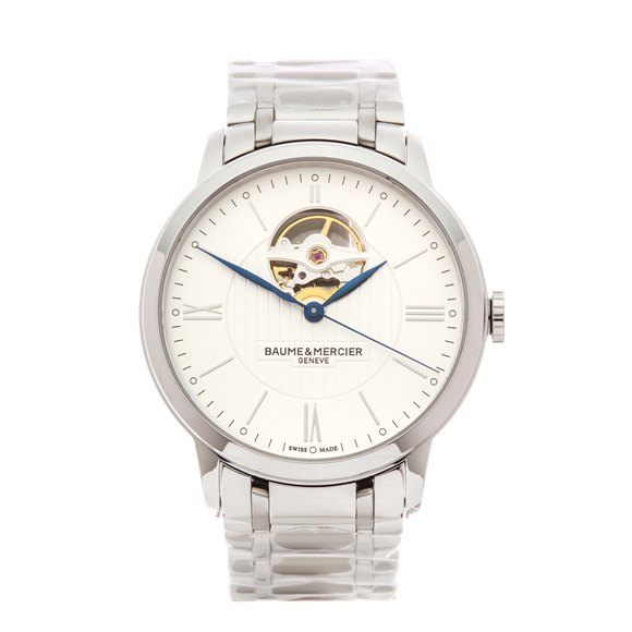 Baume & Mercier Classima Open Balance Stainless Steel - M0A10275