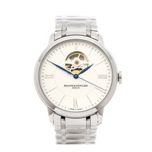 Baume & Mercier Classima Open Balance 40mm Stainless Steel - M0A10275