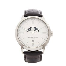 Baume & Mercier Classima 40mm Stainless Steel - M0A10219