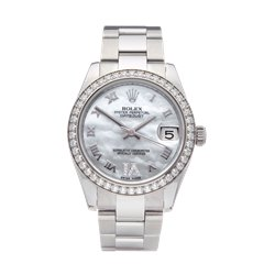 Rolex DateJust 31 Mother Of Pearl Diamond Stainless Steel - 178384