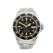 Rolex Submariner Tiffany & Co Single Red 40mm Stainless Steel - 1680