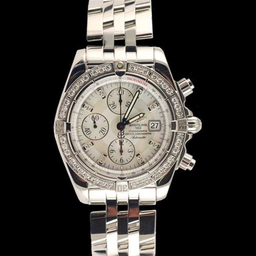 Breitling Chronomat Evolution Stainless Steel a1335653/a570-ss
