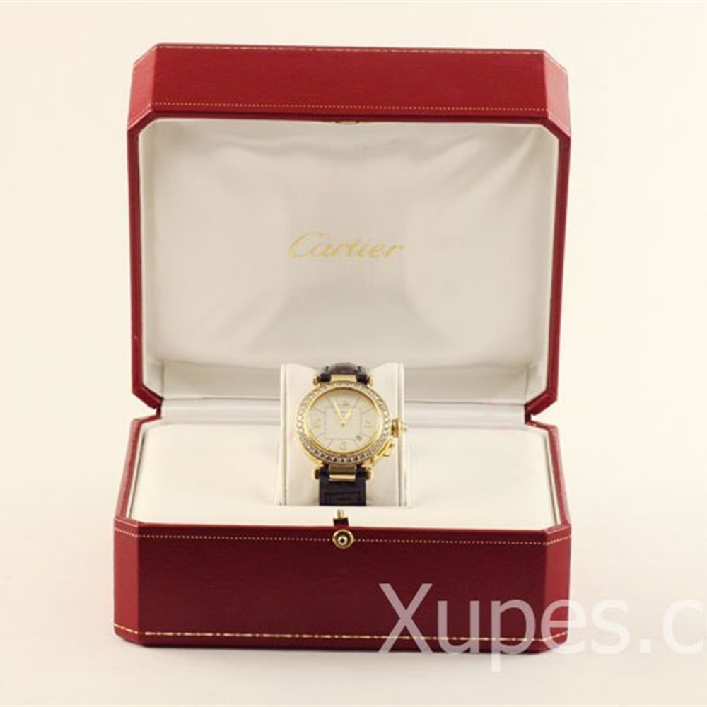 Cartier Pasha 18K Yellow Gold