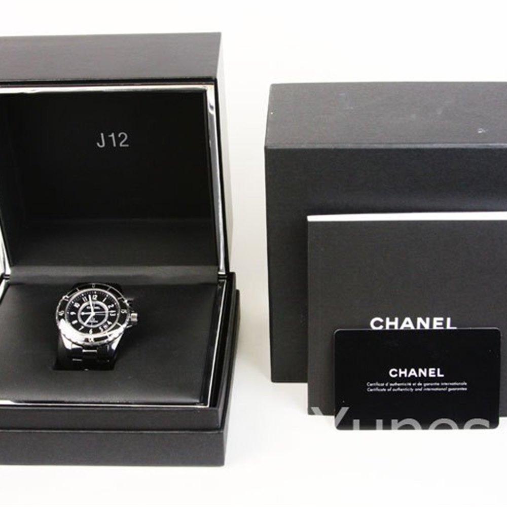 Chanel J12 Black Ceramic/Stainless Steel