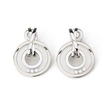 Chopard 18k White Gold Happy Diamonds Detachable Earrings